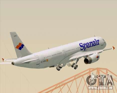 Airbus A321-231 Spanair für GTA San Andreas