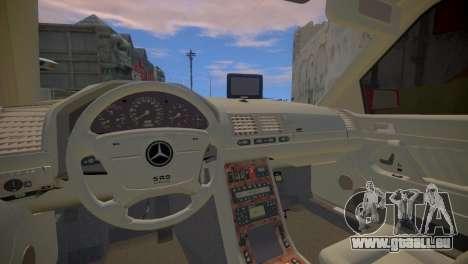 Mercedes-Benz S600 W140 für GTA 4 Innenansicht