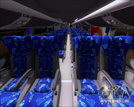 Marcopolo Paradiso G7 1600LD Scania K420 pour GTA San Andreas vue arrière