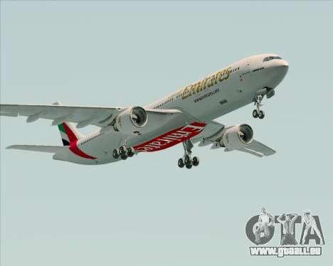 Airbus A330-300 Emirates pour GTA San Andreas vue intérieure