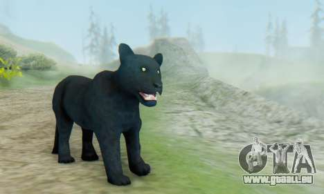 Black Panther (Mammal) für GTA San Andreas