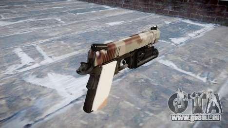 Pistolet Kimber 1911 Choco pour GTA 4 secondes d'écran