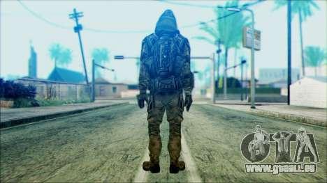 Ein Soldat aus dem team 4 Phantom für GTA San Andreas zweiten Screenshot