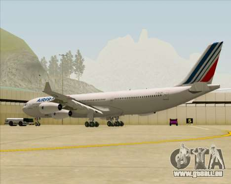 Airbus A340-313 Air France (New Livery) für GTA San Andreas rechten Ansicht