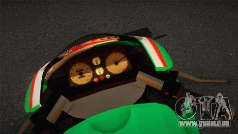 Bati RR 801 Stronzo pour GTA San Andreas sur la vue arrière gauche