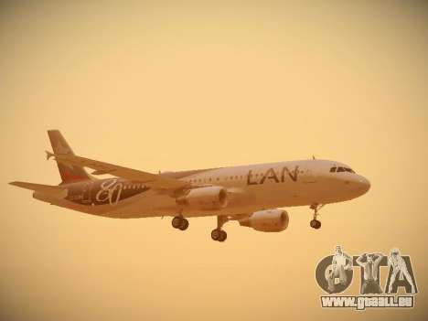 Airbus A320-214 LAN Airlines 80 Years für GTA San Andreas Motor