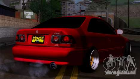 Honda Civic SI Coupe pour GTA San Andreas laissé vue