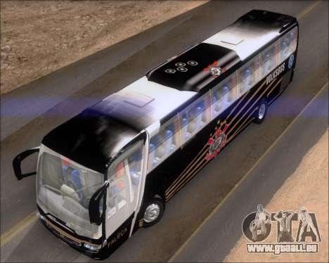 Busscar Vissta Buss LO Faleca pour GTA San Andreas vue intérieure
