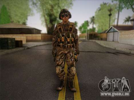 Боец СВР (Tom Clancy Splinter Cell) v2 pour GTA San Andreas