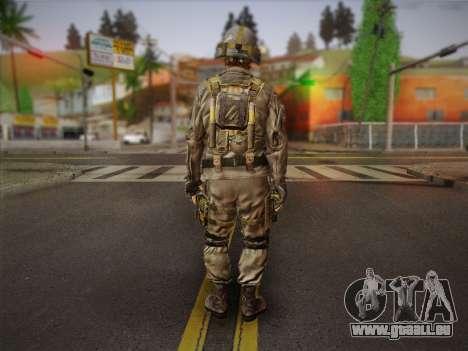 Боец СВР (Tom Clancy Splinter Cell) v2 pour GTA San Andreas deuxième écran