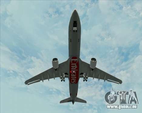 Airbus A330-300 Emirates pour GTA San Andreas vue de côté