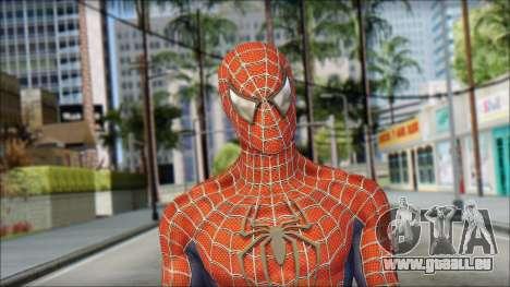 Red Trilogy Spider Man für GTA San Andreas dritten Screenshot