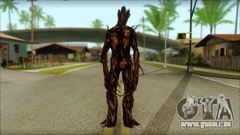 Guardians of the Galaxy Groot v2 pour GTA San Andreas deuxième écran