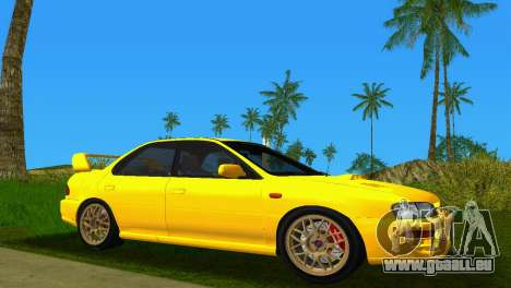 Subaru Impreza WRX STI GC8 Sedan Type 1 für GTA Vice City zurück linke Ansicht