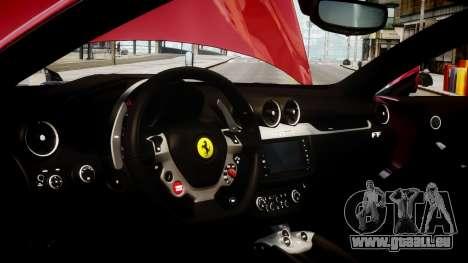 Ferrari FF 2011 v1.5 pour GTA 4 Vue arrière