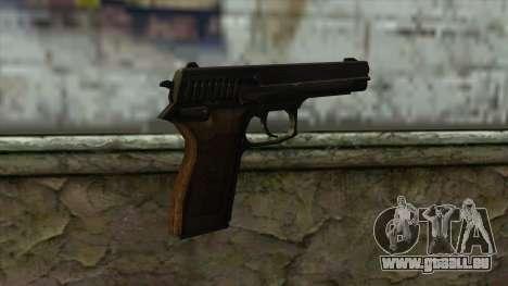 TheCrazyGamer Bernardelli P18 pour GTA San Andreas deuxième écran