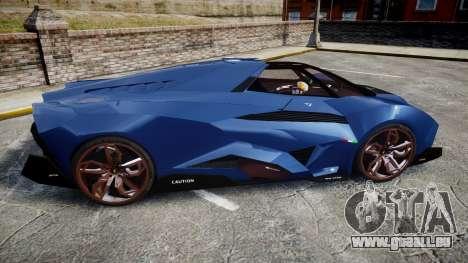 Lamborghini Egoista pour GTA 4 est une gauche