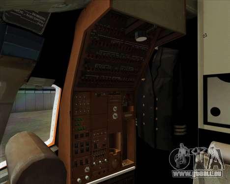 Boeing 767-300ER Australian Airlines pour GTA San Andreas moteur