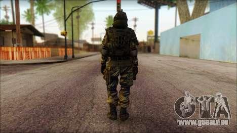 Soldaten der EU (AVA) v1 für GTA San Andreas zweiten Screenshot