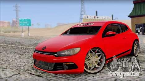 Volkswagen Scirocco Soft Tuning für GTA San Andreas