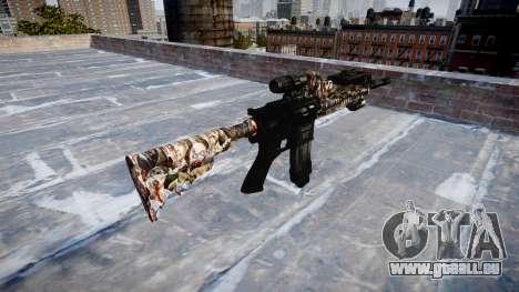 Automatische Gewehr Colt M4A1 zombies für GTA 4 Sekunden Bildschirm