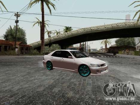 Toyota Altezza Addinol für GTA San Andreas