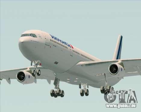 Airbus A340-313 Air France (New Livery) für GTA San Andreas Rückansicht