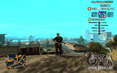 C-HUD by SampHack v.12 pour GTA San Andreas