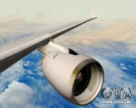 Airbus A330-200 American Airlines pour GTA San Andreas moteur