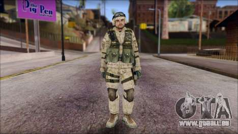 USA Soldier für GTA San Andreas