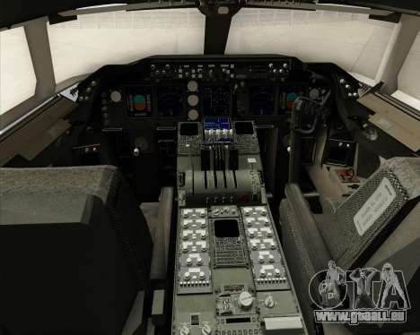 Boeing 747-8 Cargo House Livery für GTA San Andreas Innen