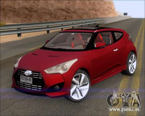 Hyundai Veloster 2013 für GTA San Andreas linke Ansicht