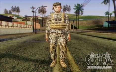 Les soldats de l'Armée AMÉRICAINE (ArmA II) 1 pour GTA San Andreas