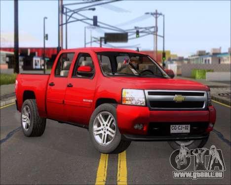 Chevrolet Silverado 2011 für GTA San Andreas
