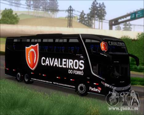 Marcopolo Paradiso G7 1600LD Scania K420 pour GTA San Andreas laissé vue
