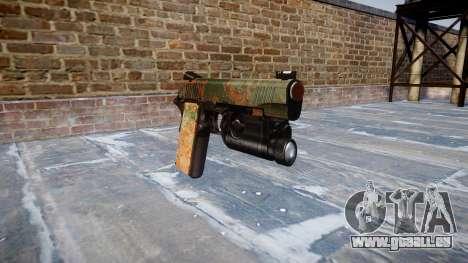 Pistolet Kimber 1911 Jungle pour GTA 4