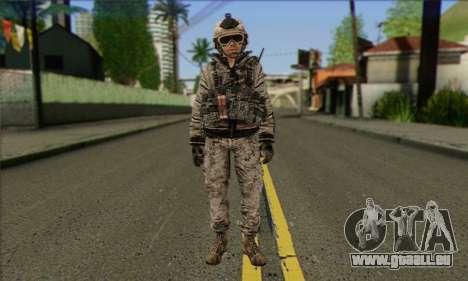 Task Force 141 (CoD: MW 2) Skin 5 für GTA San Andreas