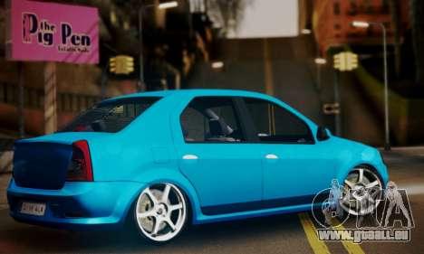 Dacia Logan 1.6 für GTA San Andreas linke Ansicht