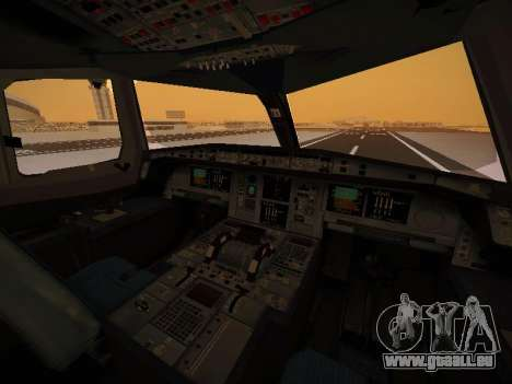 Airbus A380-800 Malaysia Airlines pour GTA San Andreas