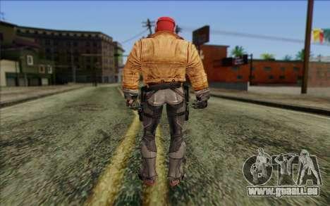 Red Hood from DC Comics pour GTA San Andreas deuxième écran