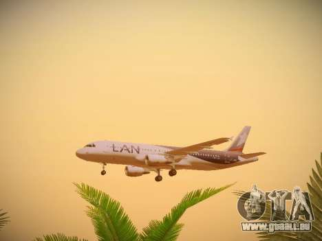 Airbus A320-214 LAN Airlines für GTA San Andreas