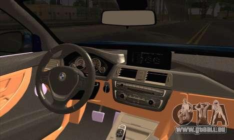 BMW 435i Stance pour GTA San Andreas sur la vue arrière gauche