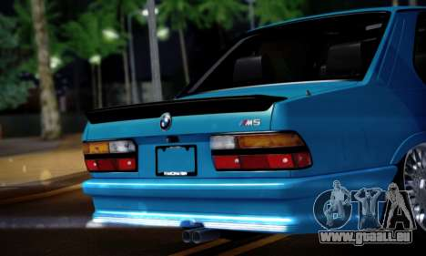 BMW M5 E28 für GTA San Andreas rechten Ansicht