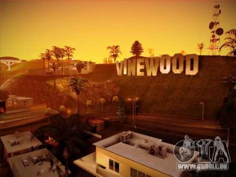 Nouveau ENBSeries par MC_Dogg pour GTA San Andreas troisième écran