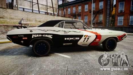 Dodge Challenger 1971 v2.2 PJ5 pour GTA 4 est une gauche