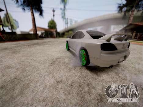 Nissan Silvia S15 pour GTA San Andreas vue de côté