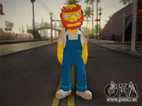 Der Hausmeister Willy Aus Den Simpsons: Road Rag für GTA San Andreas