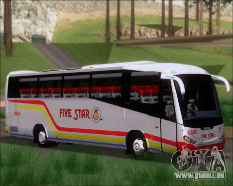 Irizar MQ2547 Five Star 8802 für GTA San Andreas linke Ansicht