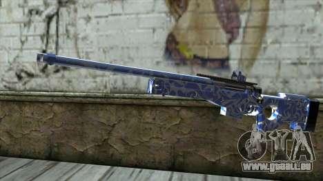 Graffiti Rifle für GTA San Andreas