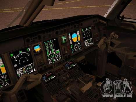 Embraer E190 Azul Brazilian Airlines pour GTA San Andreas vue de dessus